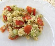 couscous salat frisch leicht lecker