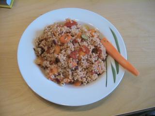 couscous salat mit knackigem gemüse