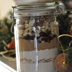 cranberry cookies im glas zum verschenken