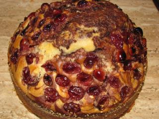 cranberry marmorkuchen