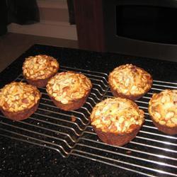 cranberry muffin mit zitrone
