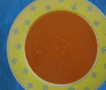 cremige tomatensuppe schnell und low fat