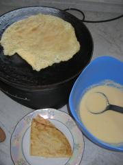 crêpesteig für süße crêpes