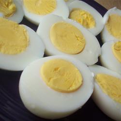 das perfekt hartgekochte ei und zwar wirklich