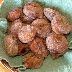 doughnuts mit apfelmus