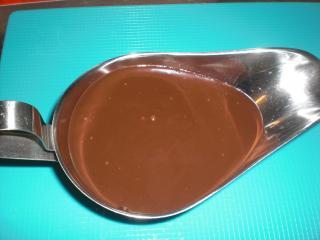dunkle schokoladensauce für desserts