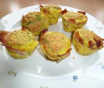 eier muffin rühreier mal anders