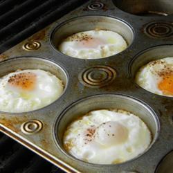 eier vom grill
