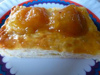 ein kuchen mit milchreis