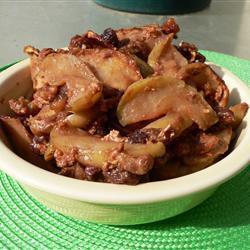 einfache gebackene Äpfel aus dem ofen