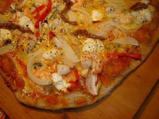 einfache leckere pizza