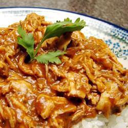 einfache mexikanische mole sauce für huhn