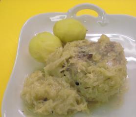 eisbein mit sauerkraut im schnellkochtopf