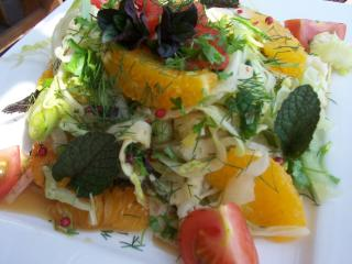 eisberg orangen fenchel salat