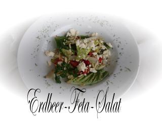 erdbeer feta salat