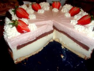 erdbeer joghurt sahne torte