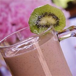 erdbeer kiwi milchshake