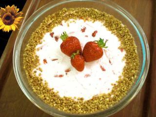 erdbeer sahne creme mit vanille