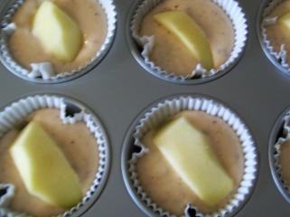 erdbeer vollkorn joghurt haselnuss apfel muffins