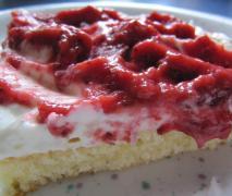 erdbeer wellen kuchen