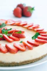 erdbeer zitronencreme torte