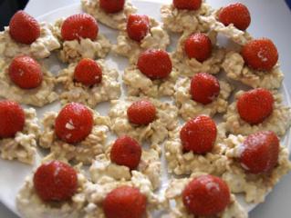 erdbeeren im crossybett