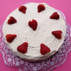 erdbeeren sahne torte