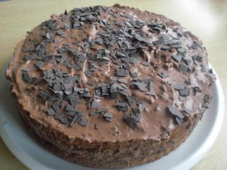 erdnuss schokoladen torte
