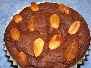 erdnussbutter nutellamuffins