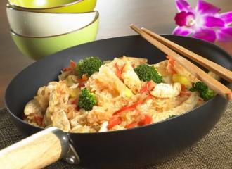 fasskraut hähnchen aus dem wok