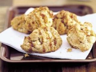 feine apfel hafer cookies mit karamell