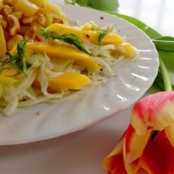 fenchel mango salat