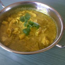 fettarmes fish curry