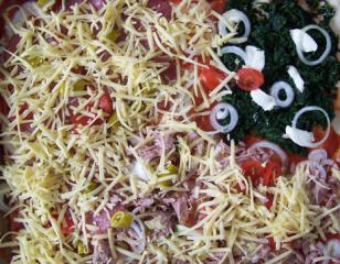 feurige pizza tricolore