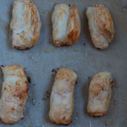 filoteig röllchen mit käse