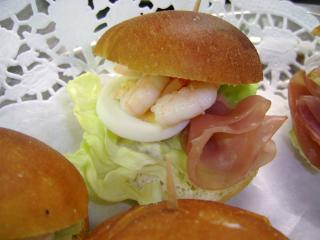 fingerfood burger