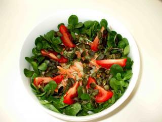 fitness salat nach art des hauses