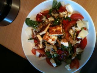 fitness salat top