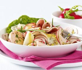 fleischwurst rettich salat