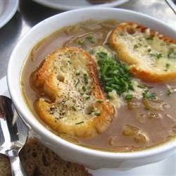 französische zwiebelsuppe im slow cooker oder crockpot