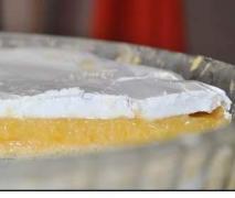 französischer zironen meringue kuchen