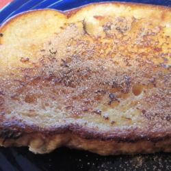 french toast mit zimtzucker