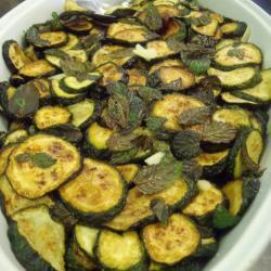 frittierte zucchini mit minze zucchini alla scapece
