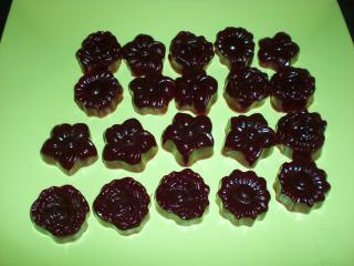 fruchtgummis mit holunderbeergeschmack