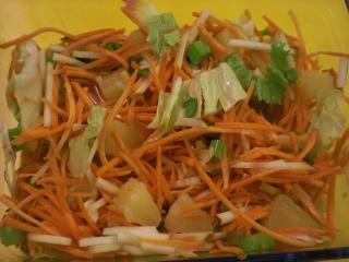 fruchtiger möhrensalat