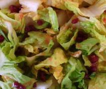 fruchtiges preiselbeer dressing zu salat feldsala
