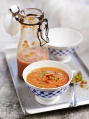gazpacho andaluz kalte gemüsesuppe