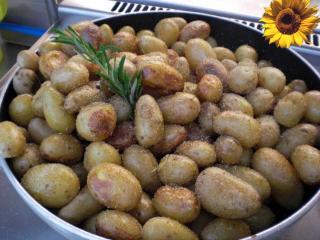 gebratene drillinge besondere bratkartoffeln