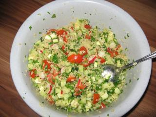 gemüse couscous salat
