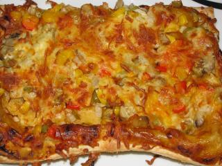 gemüsepizza curry chili